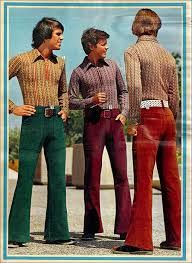 70s velvet pants and bodysuit shirts, what else you need?