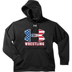 Under Armour Men's USA Wrestling Hoodie