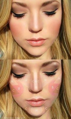 Make-Up (Blush, Highlight)