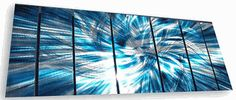 Cascada Metal Wall Art