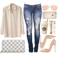 Shirt and Peach Sling Bags Summer Fashion Trends 6bda2d8a7ecac