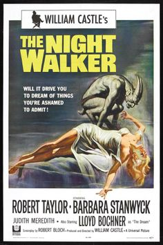 The Night Walker - USA (1964) Director: William Castle *Great News: This has been released on DVD Made on Demand by Turner Classic Movies/Universal. See the Cinema Cafe's New Releases Board for more information.