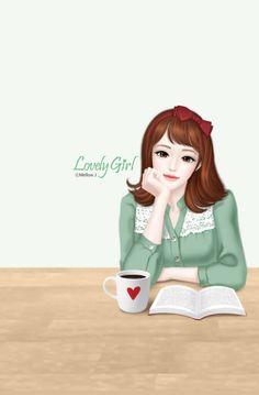 Enakei Lovely Girl Image Girls Image Korean Anime Korean Art Fashion Design