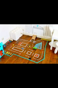 You could something like thus, but like a cluedo board with the different rooms of a house