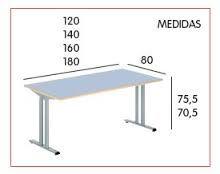 Resultado de imagen para medidas de mesas de comedor