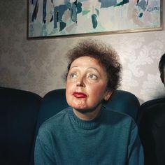 Edith Piaf by Raymond Depardon, 1959 Magnum Photos, Color Photography, Street Photography, Juliette Greco, Star Francaise, French Songs, Never Grow Old, Cinema, Photographer Portfolio