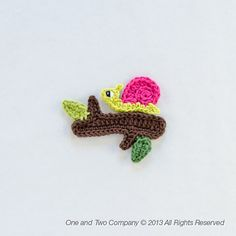 Instant Download  New PDF Crochet Pattern  por oneandtwocompany, $3.75