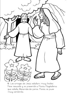Cheers Sunday School: Bible Stories Picture of Death (Friday) until the Resurrection of the Lord Jesus (Easter) 1 Lds Coloring Pages, Coloring Sheets, Jesus Is Risen, Religion Catolica, Easter Story, Jesus Resurrection, Biblical Art, Church Crafts, Sunday School Crafts