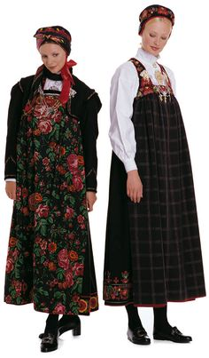 Festbunad from Lower Hallingdal Folk Costume, Costume Dress, Holland, Fantasy Costumes, Unique Dresses, Traditional Dresses, Well Dressed, Norway, Europe