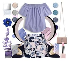 """Lavender"" by bingsucks ❤ liked on Polyvore featuring Yves Saint Laurent, Terre Mère, Sephora Collection, Jimmy Choo, Giorgio Armani, Ally Fashion, J.Crew and Butter London"
