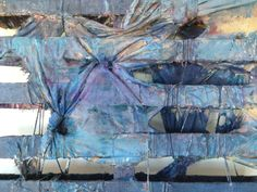Antonio Basso. 3D abstract art on wood. Alteration #2.