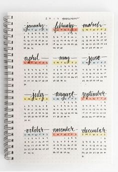 The future log in your bullet journal gives you a yearly overview of the year. See how to set up a bullet journal future log or use my free PDF pritnable. for likes post Bullet Journal Future Log - Setup Guide & Usage Ideas