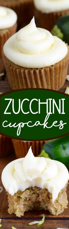 Home Made Doggy Foodstuff FAQ's And Ideas These Zucchini Cupcakes Are Amazingly Delicious And Moist A Whole Batch Will Get Devoured Before You Know It: Cupcake Recipes, Baking Recipes, Cupcake Cakes, Dessert Recipes, Veg Recipes, Muffin Recipes, Cup Cakes, Healthy Recipes, Yummy Treats
