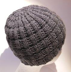 Young men hat pattern by Lydia Fischer – socken stricken Knitting Blogs, Knitting For Beginners, Baby Knitting, Knitting Patterns, Crochet Round, Knit Crochet, Crochet Hats, Knitted Hats Kids, Knitted Bags