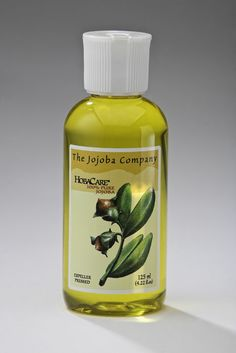 Pure, organic jojoba oil from the Jojoba Company, a Maine business. I use jojoba oil as a make-up remover, balancing moisturizer, shaving oil and in my DIY body wash. A must have! (I discovered this at Whole Foods in Boston)