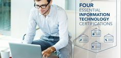 Beginning a career in information technology? Here are 4 certifications that will increase your IT knowledge and marketability to potential employers.