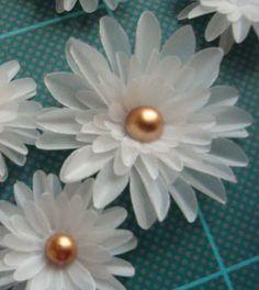 Flor de papel vegetal passo a passo