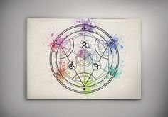 Transmutation Circle Fullmetal Alchemist Anime by EpicShoppe