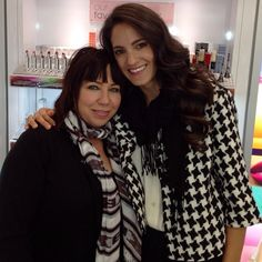 With my friend Terri Apanasewicz - Celebrity Makeup Artist and Hairstylist