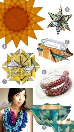 origami beauties: radiant designs & beautiful colors!