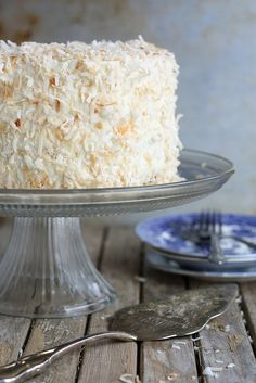 OH YUM!!!!  Southern Coconut Cake - post by Completely Delicious (@Annalise (Completely Delicious)