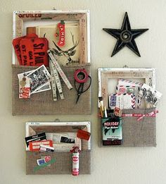 perfect inspiration for my next boutique craft. wall hanging message frame.