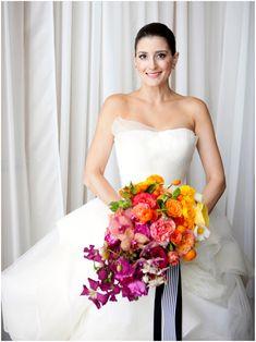 Sinclair & Moore Hanna and Bret Rainbow Wedding 13 Wedding Bouquets, Wedding Flowers, Wedding Dresses, Rainbow Wedding, Martha Stewart Weddings, Neutral Colour Palette, Elvis Presley, Floral, Photography