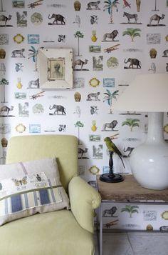 Travel Memories - Wallpaper - Room Seven