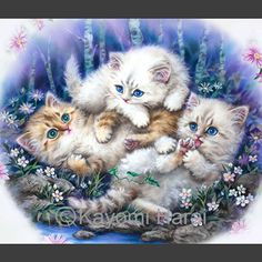 of Kittens & Cute Animals Kittens Cutest, Cute Cats, Valentines Day Cartoons, Designer Wallpaper, Wallpaper Designs, Cute Animals Images, Cat Crafts, Pretty Pictures, Cute Wallpapers