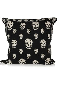 Alexander McQueen pillow. I would die for this pillow<3