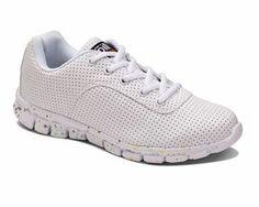 Oill sneakers, hvid - Spray Signature girl shoe, white - NETSKO.dk kr. 600,00