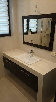 mEble łazienkowe z lustrem na zamówienie