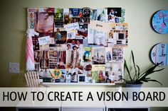 If you shy away from setting goals or creating a vision for your life because you're afraid you won't follow through, try creating a vision board.