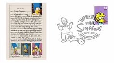 2009 The Simpsons First Day Cover - Marge Simpson Playboy