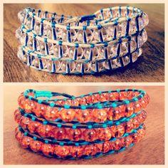 $20 beaded wrap bracelets on Etsy!!