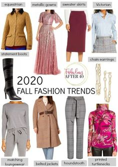 The latest fall fashions have started trickling into stores, but is there really anything new? Here is my review of the top fall fashion trends for 2020. #womensfashion #fashionover40 #fallstyle #fallfashion #outfitideas Casual Winter Outfits, Fall Outfits, Fashion Outfits, Casual Fall, 2020 Fashion Trends, Fashion 2020, Women's Fashion, Fashion For Women Over 40, Ladies Fashion