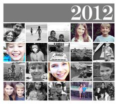 "As the year draws to a close, ""year in review"" is popping up everywhere: Facebook, news, magazines, scrapbooking and more. Here are a few ideas for creating an end-of-year scrapbook layout using lots of small photos: 1. Contact Sheet For the 2012 layout above, I created a contact sheet in iPhoto (print > contact sheet … Read more..."