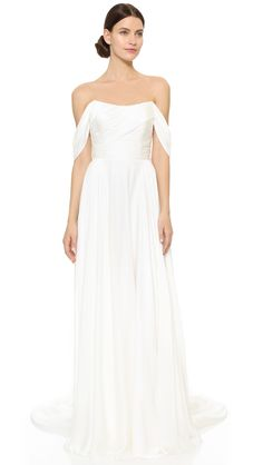 See+the+On-Trend+Wedding+Gown+Worn+by+the+Daughter+of+a+Princess+via+@WhoWhatWear