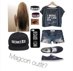 Magcon outfit made by me on polyvore
