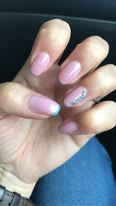 Wedding french nails