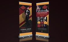 Check out the banners we designed for The Suit Shop Co. Ltd. They opened their doors on the tail end of 2016 and are moving forward with full momentum.  Thanks to Angelstar Digital for doing a fantastic job printing them on such short notice to have them ready for The Wedding Odyssey Trade show last weekend.