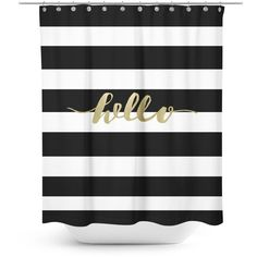 Black and pink paris bathroom shower curtain and for Black and white striped bathroom accessories