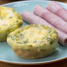 Este omeletinho de forno vai te ajudar a começar bem o dia
