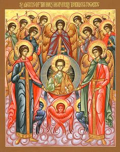 Archangels and Angels According to Orthodox Christianity — St. Archangel Gabriel, Archangel Michael, Religious Icons, Religious Art, Archangel Prayers, Angel Spirit, Les Religions, Guardian Angels, Orthodox Icons