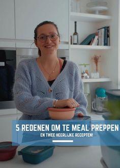 5 redenen om te meal preppen!(en twee heerlijke recepten) • Cookameal Food Blogs, Om, Men Sweater, Men's Knits