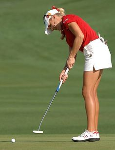 Expert Golf Tips For Beginners Of The Game. Golf is enjoyed by many worldwide, and it is not a sport that is limited to one particular age group. Not many things can beat being out on a golf course o Sexy Golf, Girls Golf, Ladies Golf, Lpga Players, Let's Golf, Natalie Gulbis, Lpga Tour, Mens Golf Outfit, Golf Tips For Beginners