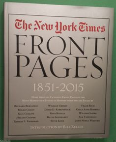 #collectibles antique vintage The New York Times Front Pages 1851-2015 Revised Edition NEW with magnifying withing our EBAY store at  http://stores.ebay.com/esquirestore