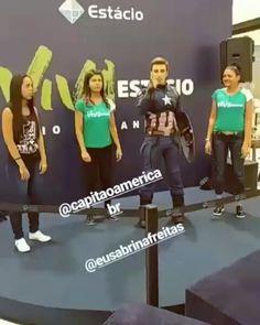 Evento stand da Faculdade Estacio no Shopping Nova América! Viva Estacio!! #capitaoamericabr #capitaoamerica #captainamerica #MarvelCosplay #marvel #marvelbrasil #marvellegends #steverogers #heroisdobem #heroes #teamcap #omelete #ccxp #spiderman #ironman #osvingadores #avengers #guerrainfinita #infinitywar #vingadores #marvelstudios #shoppingnovaamerica #faculdadeestacio #unesa  @agathadpaula @eusabrinafreitas