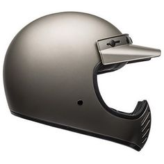 Buy the Bell Moto-3 Independent helmet in titanium on Motolegends with free UK delivery and returns on protective wear