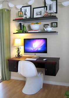 floating desk